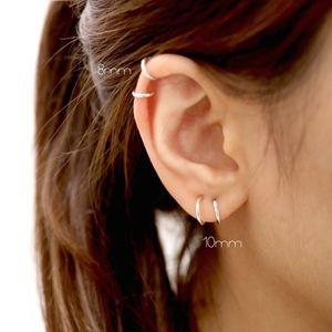 Mini Endless Hoop Earrings Set